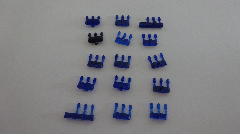 Preiser Blaulichter ( Einzelblaulichter klein , 15 x 3 Stück )