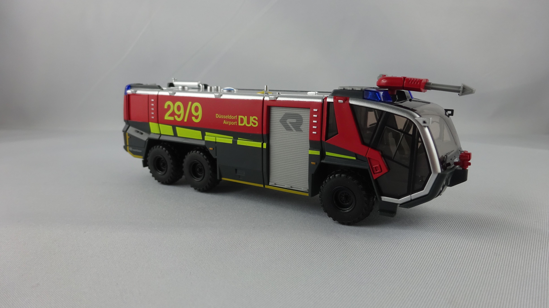 Wiking Rosenbauer Panther FLF Feuerwehr Flughafen Düsseldorf, Sondermodell