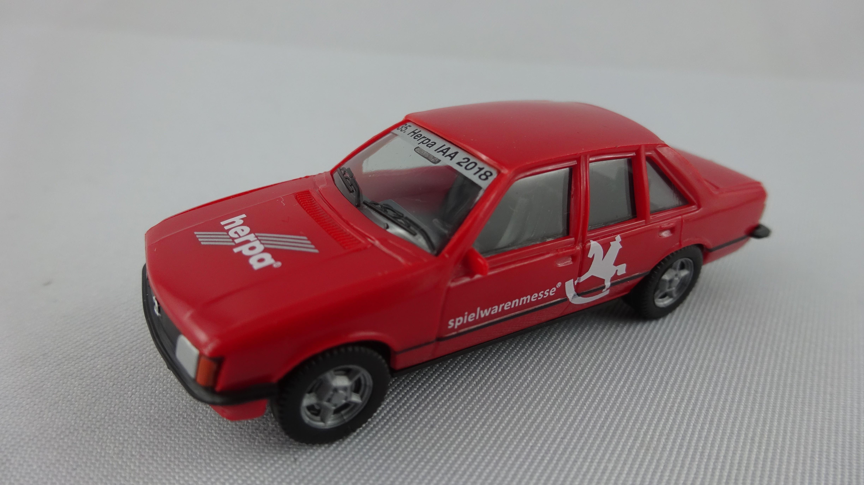 """Herpa Opel Rekord E """"Spielwarenmesser 2018"""""""