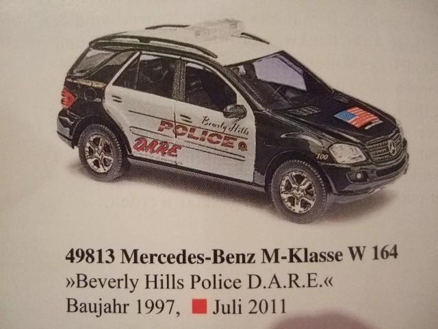 Busch MB ML Beverly Hills Police D.A.R.E.