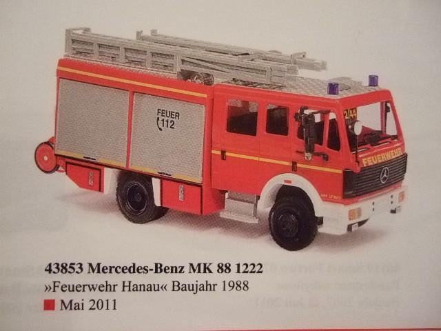 Busch MB MK 88 LF 16/12 Feuerwehr Hanau