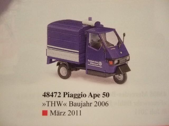 Busch Piaggio Ape 50 THW