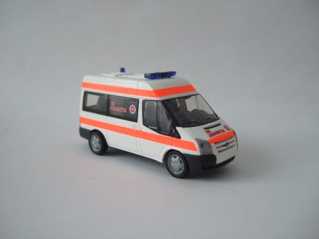 Rietze Ford Transit MD Bus JUH aus Adventskalender