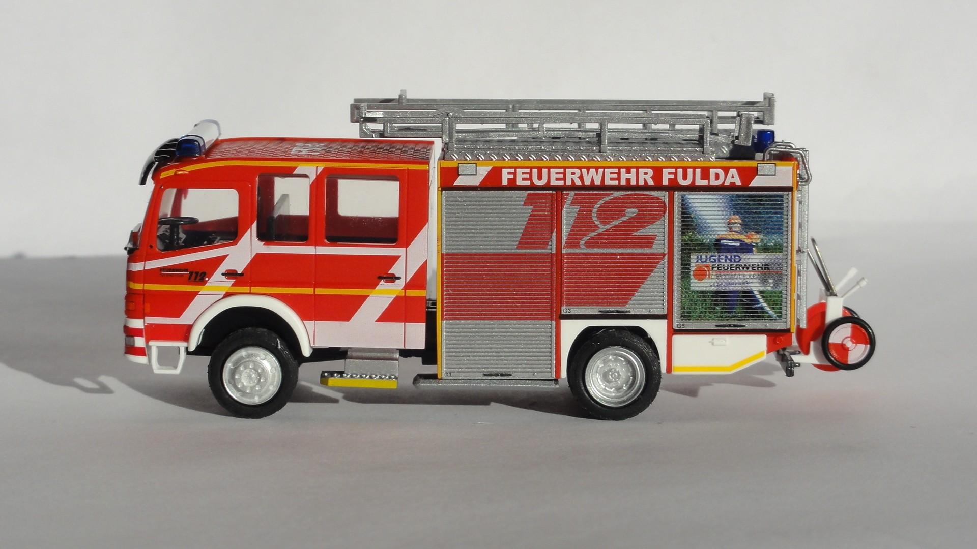 Rietze MB Atego LF 16/12 Feuerwehr Fulda