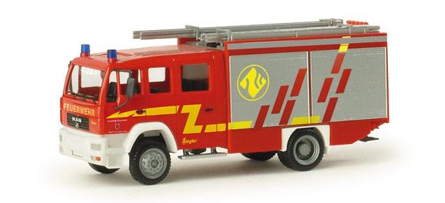 Herpa MAN LE 2000 LF 20/16 FF Herzogenrath