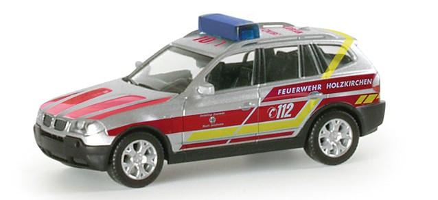 Herpa BMW X3 ELW Feuerwehr Holzkirchen
