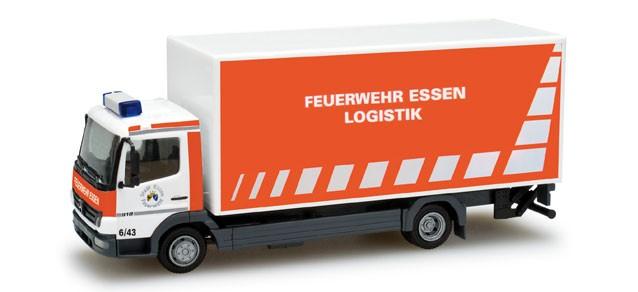 Herpa MB Atego 04 Logistik LKW BF Essen