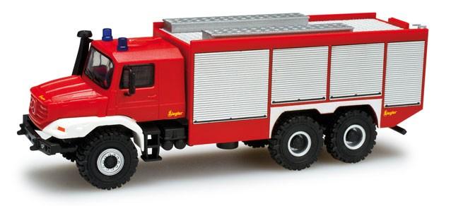 Herpa MB Zetros Rüstwagen 6x6 Feuerwehr