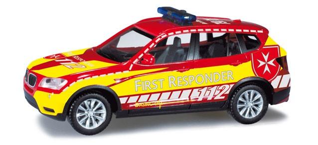 Herpa BMW X3 First Responder Dasing
