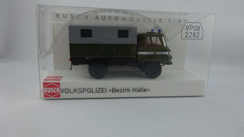 Busch Robur LO 2002 A. Volkspolizei Bezirk Halle (Einzelstück)