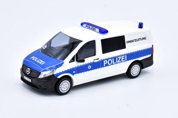 """Busch MB Vito Polizei Bremen, """" Einsatzleitung """"(Sondermodell) mit Kennzeichendruck"""