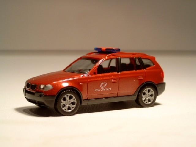 Herpa BMW X3 ELW Kreis Offenbach