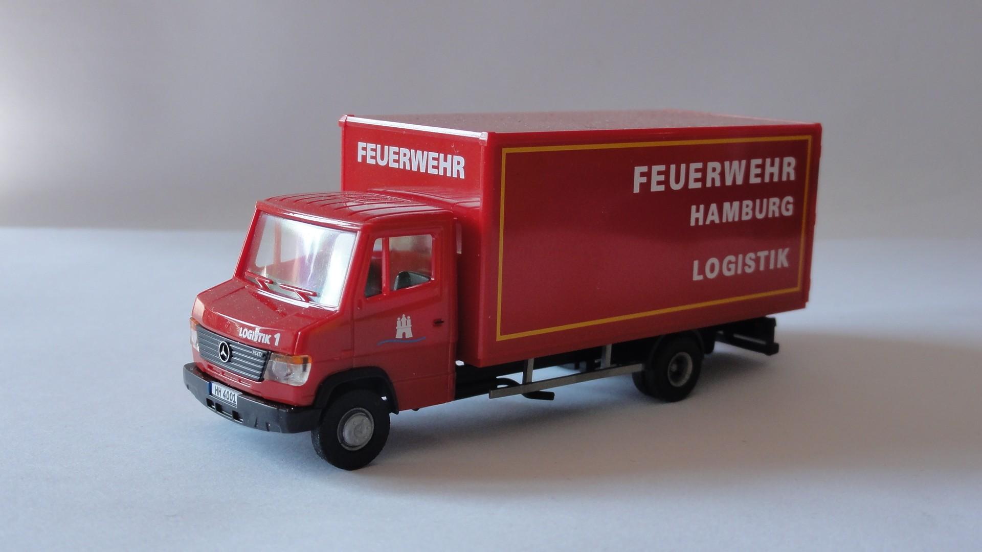 AWM MB T2 Vario Logistik LKW Feuerwehr Hamburg
