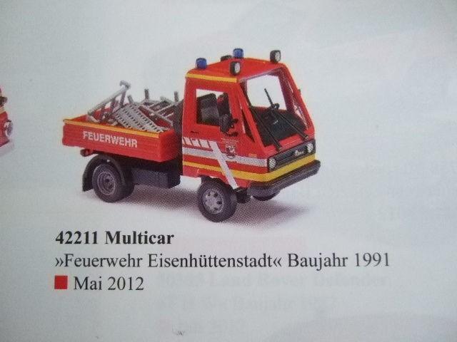 Busch Multicar Feuerwehr Eisenhüttenstadt