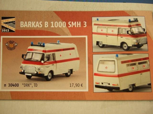 Brekina Barkas B 1000 SMH 3 DRK in weiß