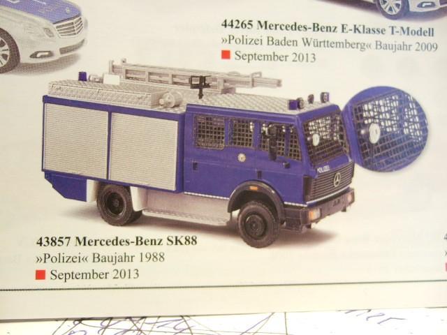 Busch MB MK 88 Polizei