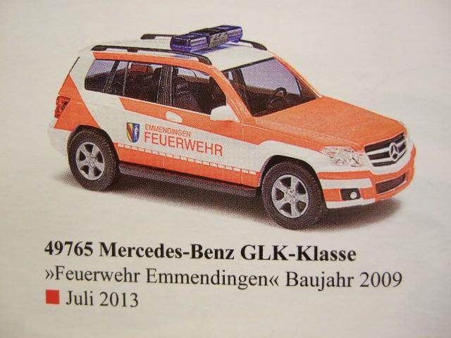 Busch MB GLK ELW Feuerwehr Emmendingen