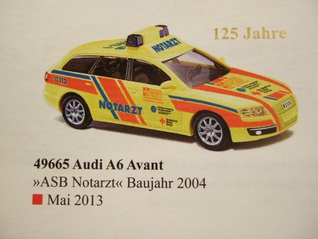 Busch Audi A6 Avant NEF ASB