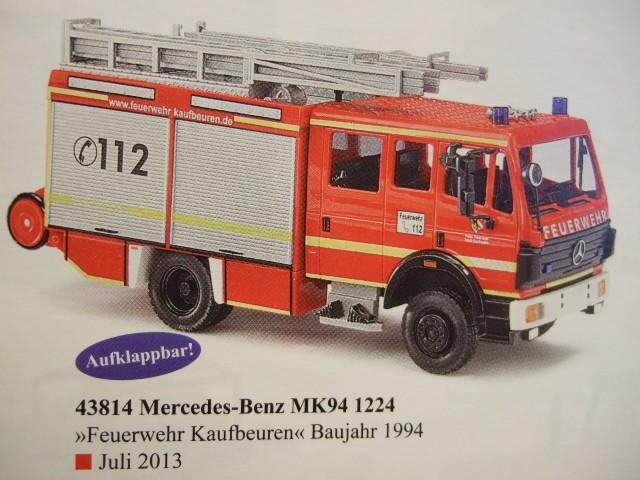 Busch MB MK 94 Feuerwehr Kaufbeuren