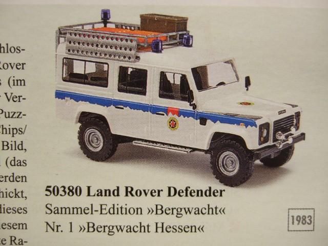 Busch Land Rover Sammel Edition Nr.1 Bergwacht Hessen