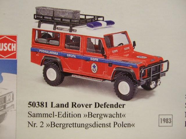 Busch Land Rover Sammel Edition Nr. 2 Bergrettungsdienst Polen