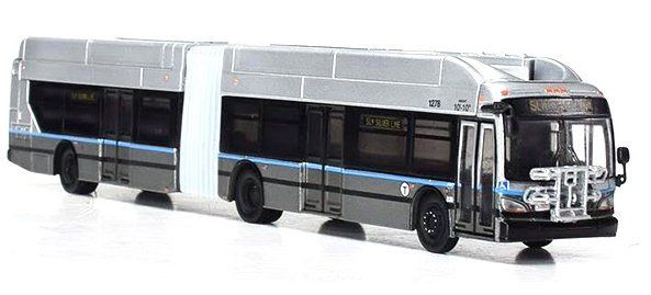 ICONIC Replicas,NEW FLYER XCELSIOR XN60 ARTICULATED: BOSTON SILVER LINE