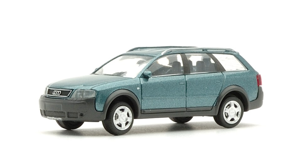 Rietze Audi allroad 2.7 Touring in PC-Box