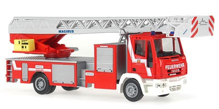 Rietze Iveco Magirus DLK M 32 L-AS Feuerwehr Osterode am Harz (Restmenge)