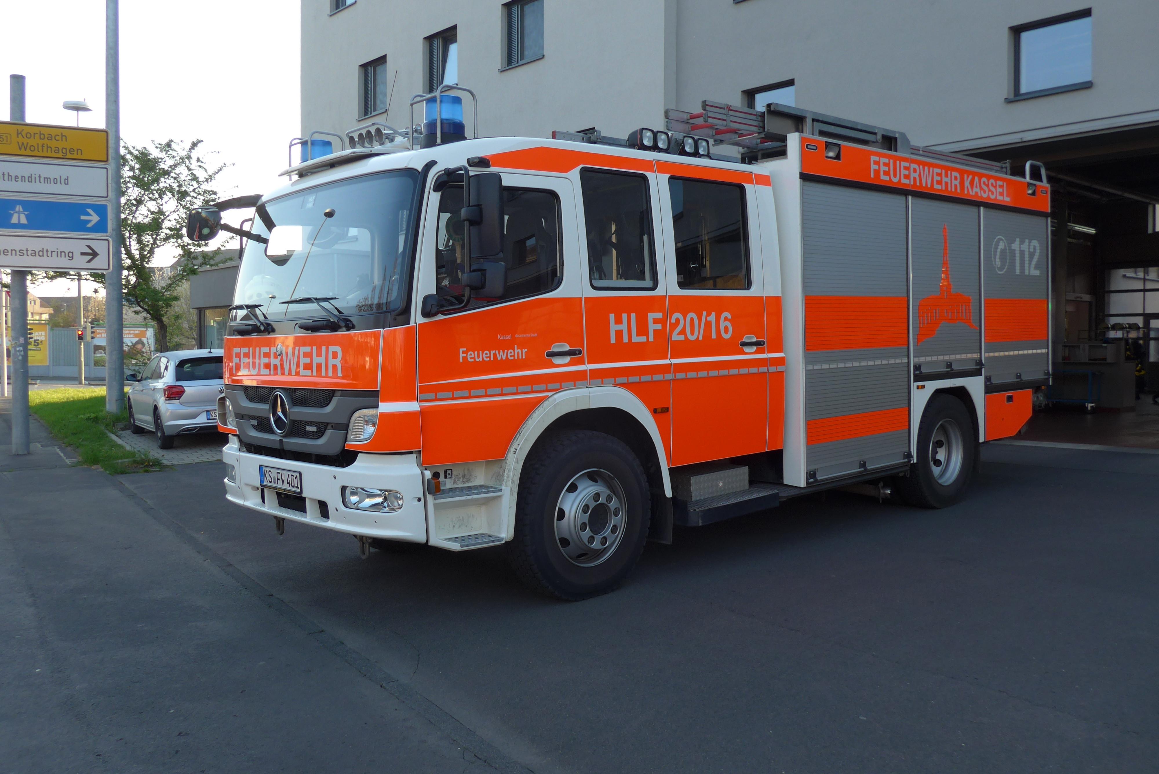 Rietze MB Atego 10 HLF 20/16 Feuerwehr Kassel (BF), (Vorbestellung / Modell noch nicht lieferbar !!)