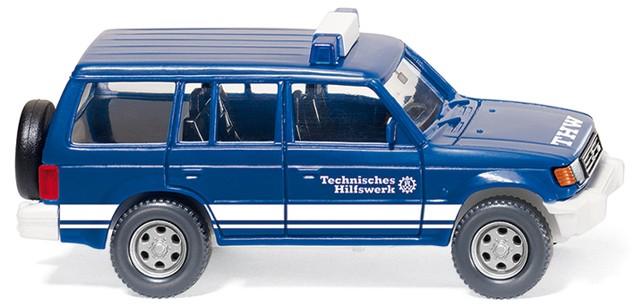 Wiking Mitsubishi Pajero THW