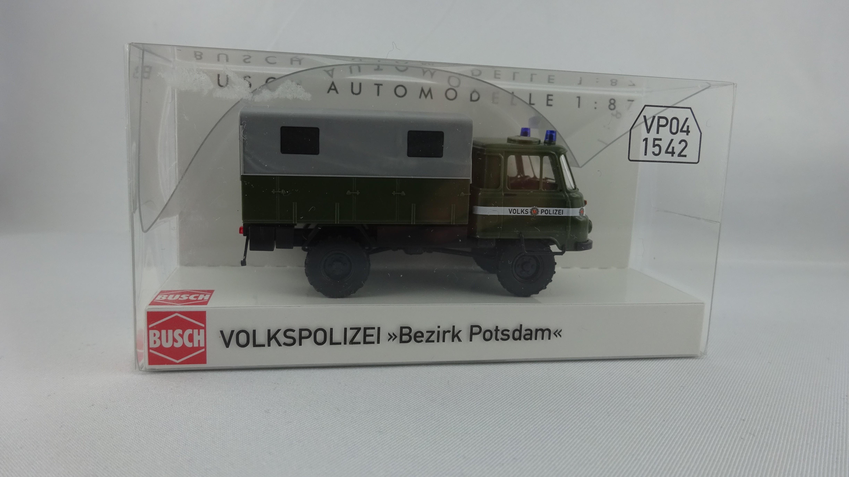 Busch Robur LO 2002 A. Volkspolizei Bezirk Potsdam (Einzelstück)