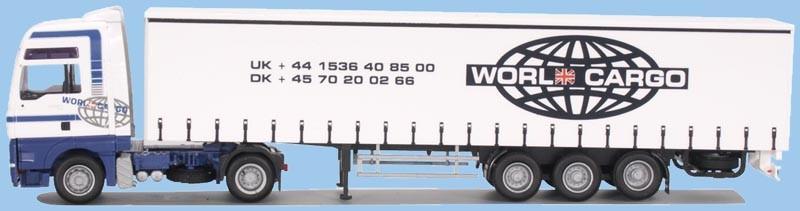 """AWM MAN TG-A XXL / Aerop. - G-KSZ """"World Cargo"""" -Einzelstück-"""