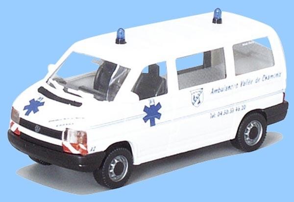 """AWM VW T4 KR """"Ambulances Chamonix"""""""