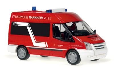 Rietze Ford Transit MTW Feuerwehr Mannheim -Einzelstück-