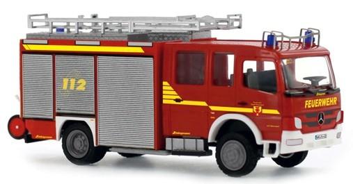 Rietze MB Atego 11 HLF Feuerwehr Warendorf, Einsatz Serie,