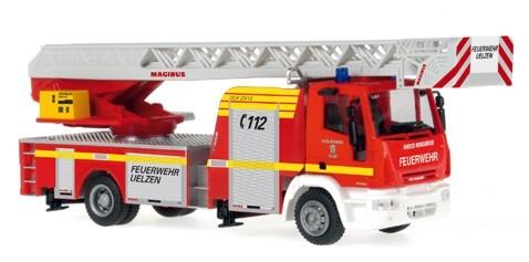 Rietze IVECO DLK 32 Feuerwehr Uelzen -Einzelstück-