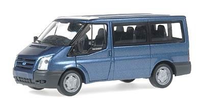 Rietze Ford Transit Bus 2006 in blaumetallic -Einzelstück-