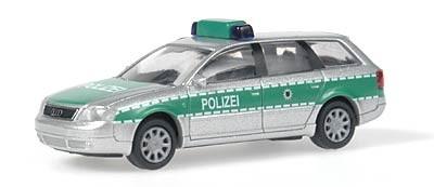 Rietze Audi A6 Avant Polizei Sachsen