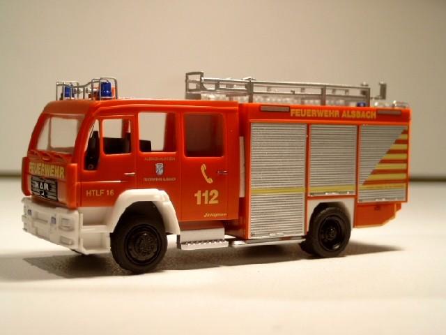Rietze MAN HTLF 16 Feuerwehr Alsbach