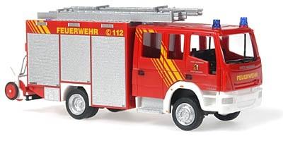 Rietze Iveco HLF 16/12 Feuerwehr Abenberg -Einzelstück-