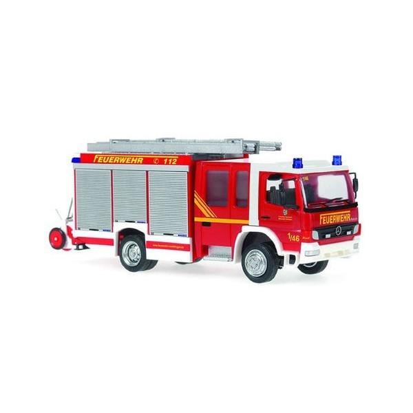 Rietze MB Atego 04 HLF Feuerwehr Völklingen, Einzelstück