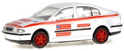 Rietze/Igra Skoda Octavia Rettungswagen-Bluttransport