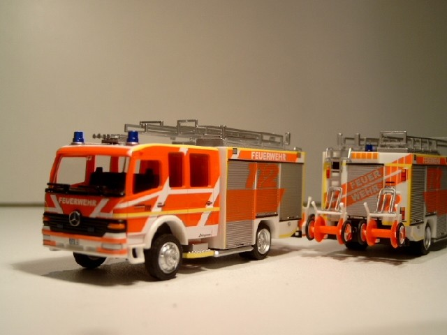 Rietze MB Atego HTLF 16/25 Feuerwehr Fulda