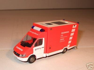 Rietze MB Sprinter RTW BF Wuppertal W-6542
