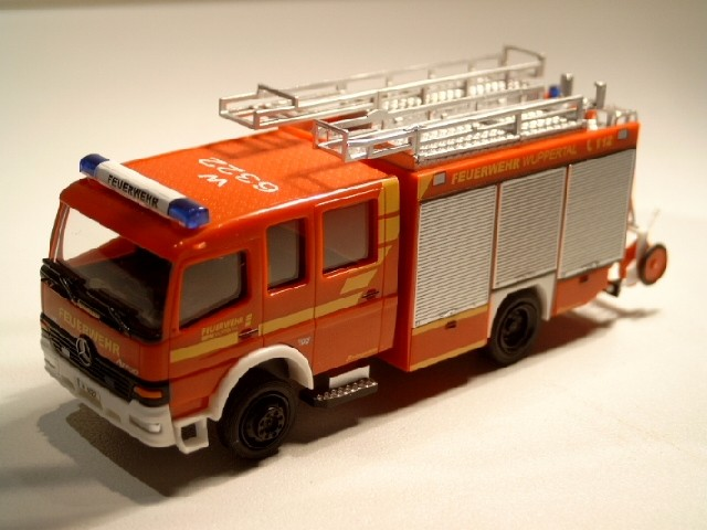 Rietze MB Atego LF 16/12 Feuerwehr Wuppertal