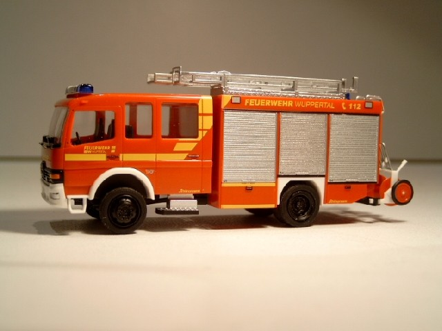 Rietze MB Atego HLF 16/12 Feuerwehr Wuppertal