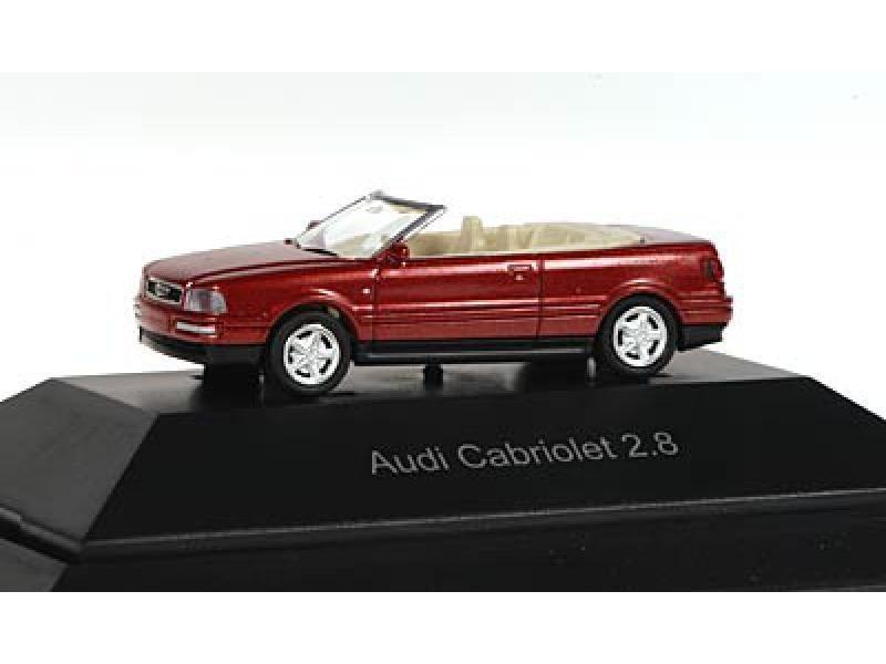 Rietze Audi Cabiolet 2.8 in PC-Box