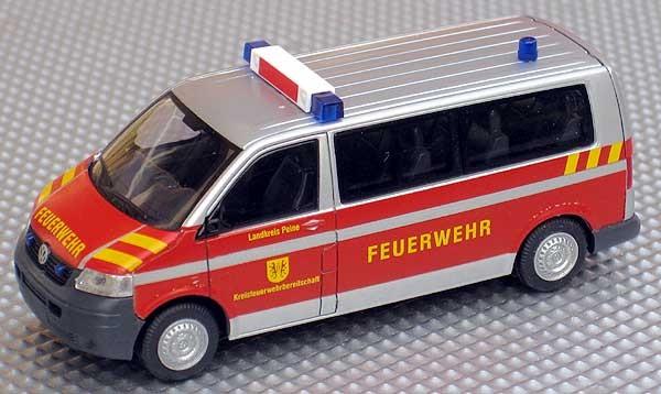 Rietze VW T5 LR MTW Feuerwehr Peine
