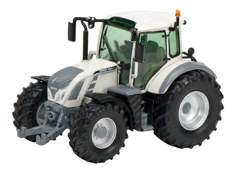 Schuco Traktor 256884 Fendt 724 Vario weiss