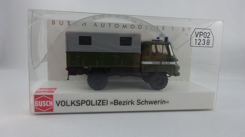 Busch Robur LO 2002 A. Volkspolizei Bezirk Schwerin (Einzelstück)